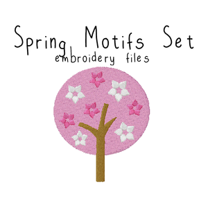 Spring Motifs Set - Flea Circus Designs