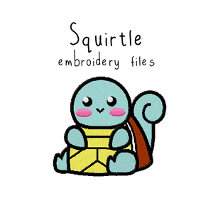 Squirtle - Flea Circus Designs