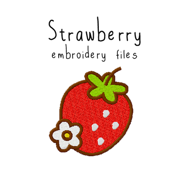 Strawberry - Flea Circus Designs