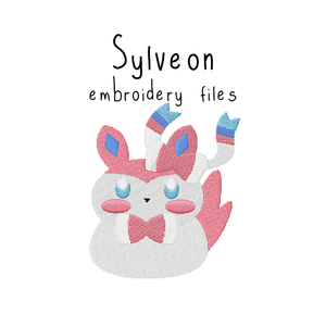 Sylveon (with and without outline) - Flea Circus Designs