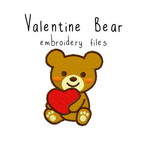 Valentine Bear - Flea Circus Designs