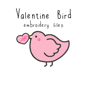 Valentine Bird - Flea Circus Designs