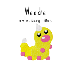 Weedle (with and without outline) - Flea Circus Designs