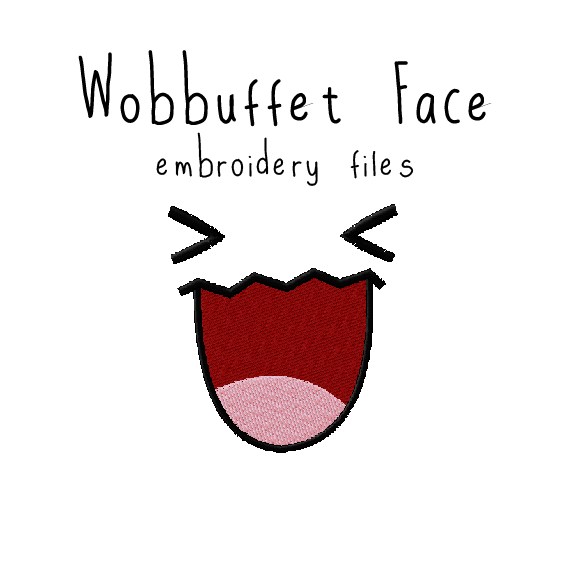 Wobbuffet Face - Flea Circus Designs