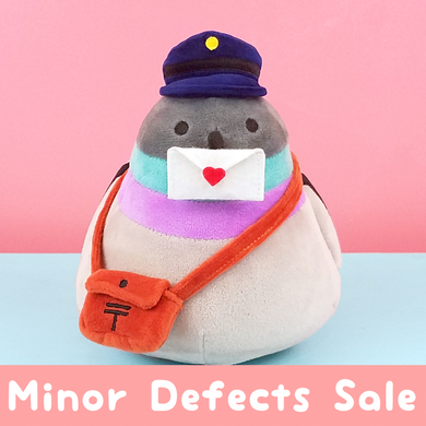 Original Poe Plushie MINOR DEFECTS SALE - Flea Circus Designs