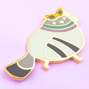MasCOOrade 2019 Poe's Friend Party Pidge Pin - Flea Circus Designs