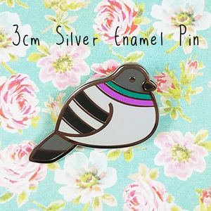 Pigeon Pin - Flea Circus Designs