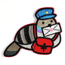 Poe Big Iron-on Patch - Flea Circus Designs
