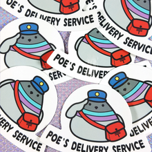 Poe's Delivery Service Sticker - Flea Circus Designs