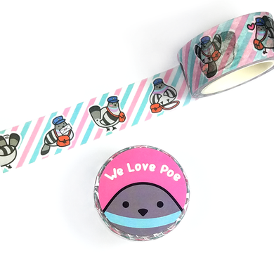 Poe Washi Tape - Flea Circus Designs