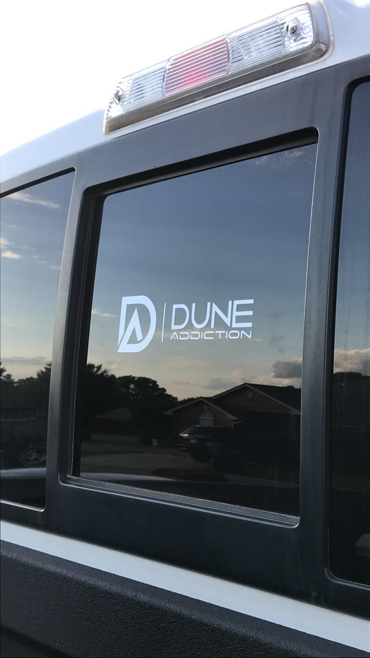 Dune Addiction Logo Decal