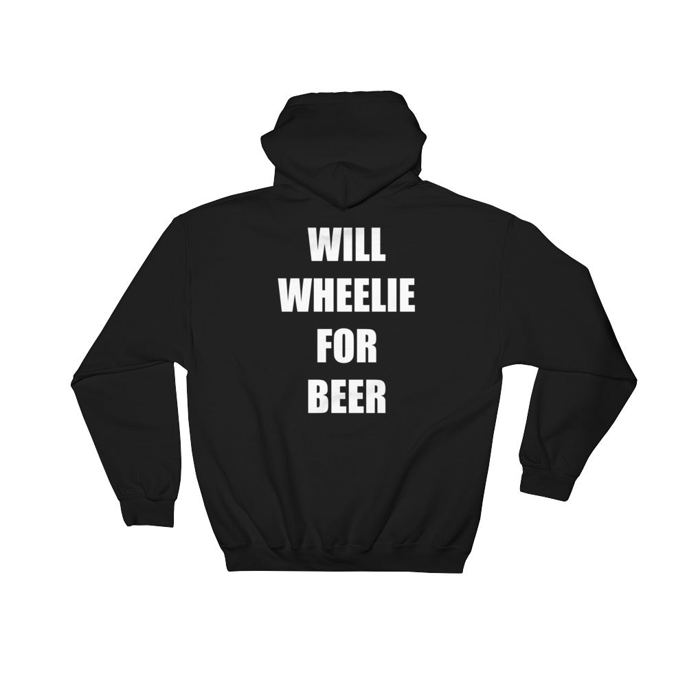 Wheelie For Beer Hoodie