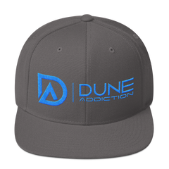 Dune Addiction Snapback Hat (Teal)