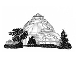 Anna Scripps Whitcomb Conservatory Print