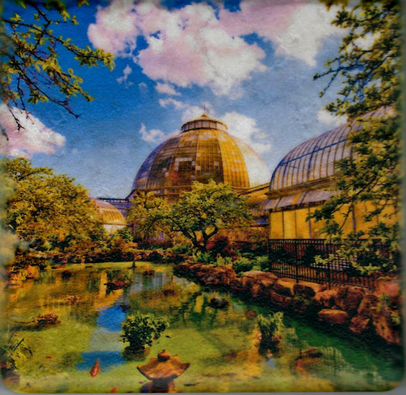 Iconic Detroit Coaster - Anna Scripps Whitcomb Conservatory