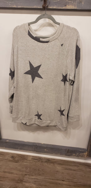 Plus Cashmere Star Sweater