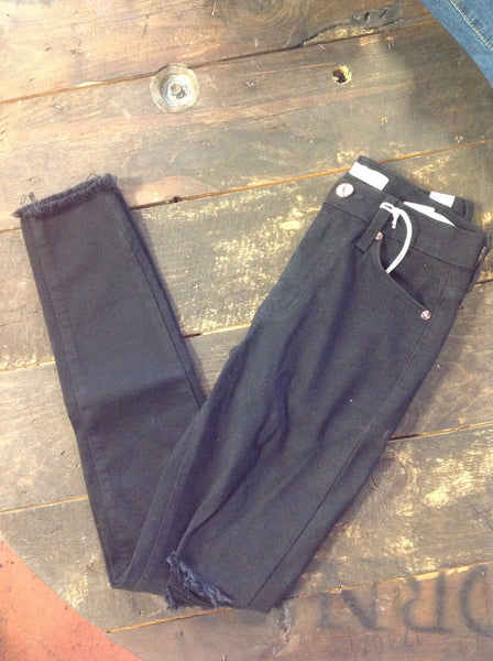 Kancan Black Distresed Skinny