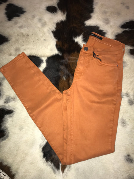 Angry Rabbit Skinnies-Orange