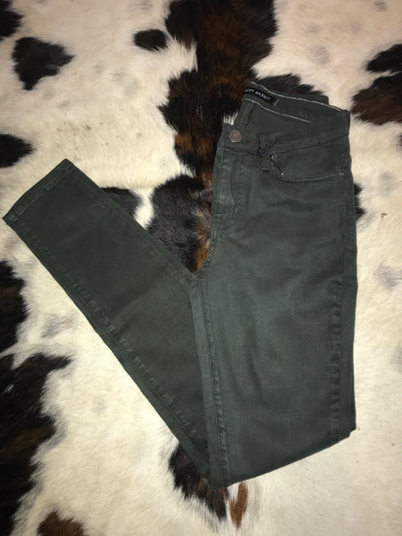 Angry Rabbit Skinnies-Olive