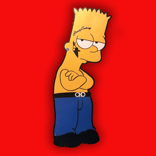 Gucci Bart Vinyl Sticker