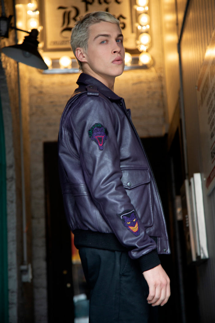 The Joker Leather Jacket for Men and Women