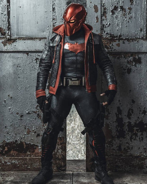 Jason Todd Red Hood Leather Jacket for Arkham Knight Video Game Lovers