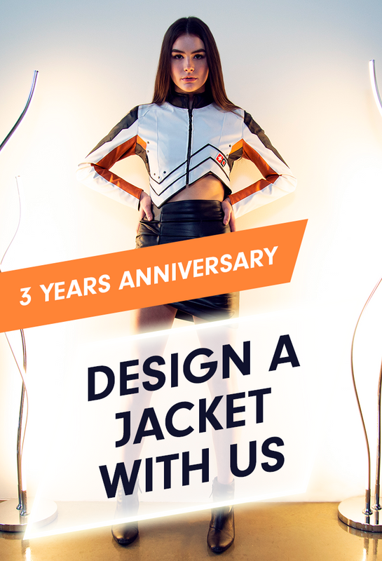 3 years anniversary, design a jacket with us