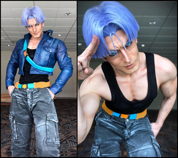Trunks Cosplay Jacket Leon Chiro Cosplayer Luca Designs Buy Trunks Leather Jacket