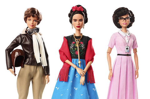 Barbie Dolls Based on Inspiring Women