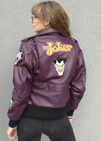 Buy Joker Leather Jacket Luca Designs