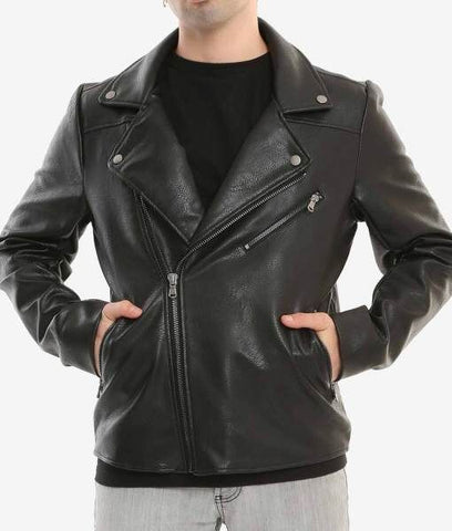 Buy Luca Designs Mens Riverdale Southside Serpents Leather Jacket Front