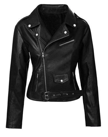 Buy Luca Designs Womens Riverdale Southside Serpents Leather Jacket Front