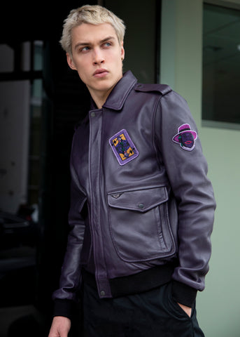 Buy Mens Joker Bomber Jacket
