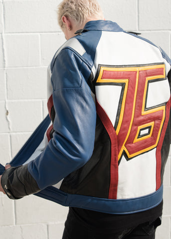 Soldier 76 Overwatch Leather Cosplay Jacket