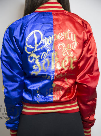 Harley_Quinn_jacket_luca_designs_buy_womens_costume_cosplay_suicide_squad_red_blue_custom_jacket_back_property_of_joker