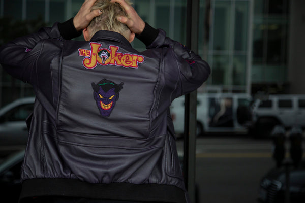 Buy Mens Leather Joker Jacket Luca Designs