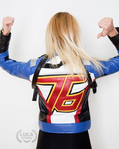 Luca_Designs_Soldier_76_Overwatch_blue_edition_video_game_leather_jacket_cosplay_costume_buy_womens_back_view
