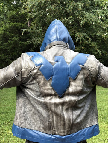 Nightwing_Dick_Grayson_Leather_Jacket_Back_View_Buy_Luca_Jackets_Designs