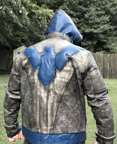 Nightwing_Dick_Grayson_Leather_Jacket_Back_View_Luca_Jackets_Designs