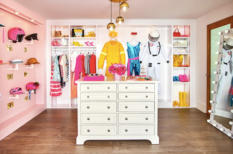 Barbie Malibu Dreamhouse Walk-in Closet