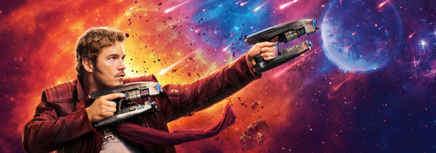 Star Lord Leather Jacket Banner Luca Designs