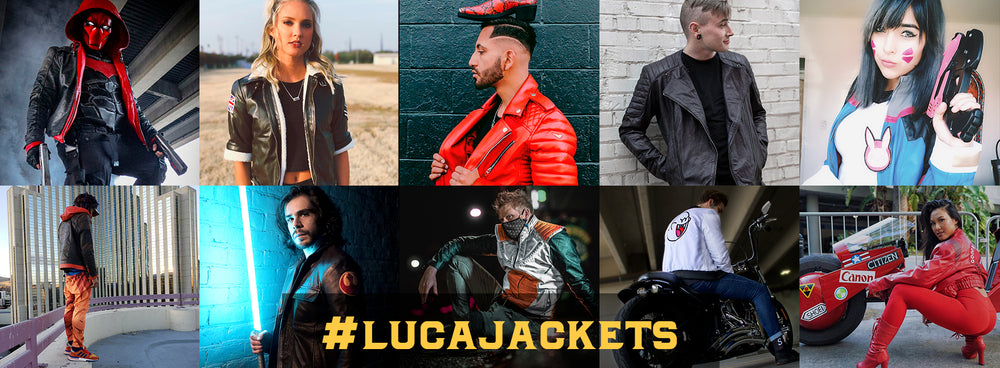 customers photos #lucajackets