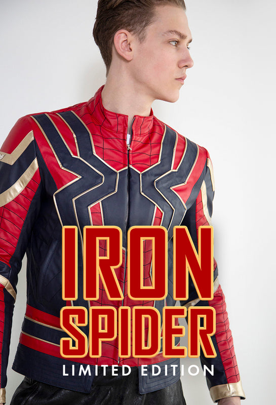 Limited Edition Iron Spider Jacket only 50 units
