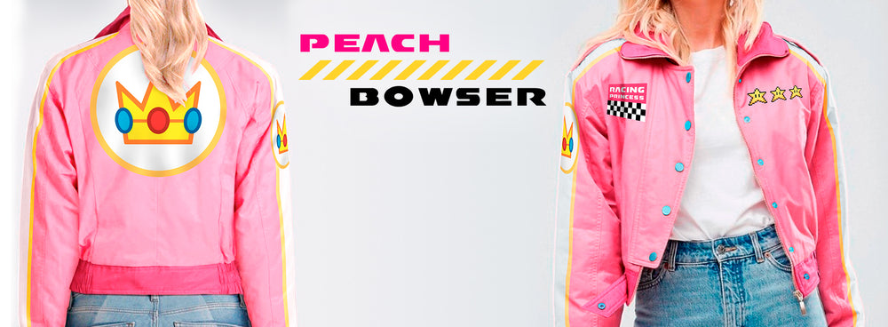 Princess Peach New Pink Bomber Jacket