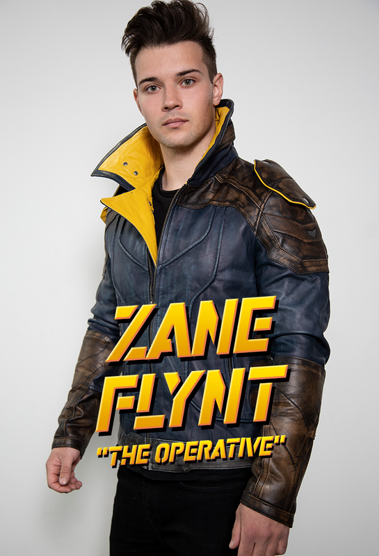 Zane Flynt the operative vault hunter leather jacket from borderlands 3
