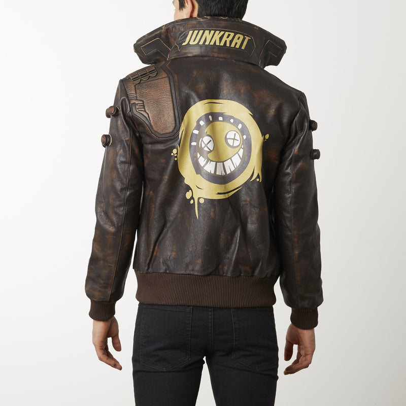 Junkrat Leather Jacket Overwatch Blizzard Gear