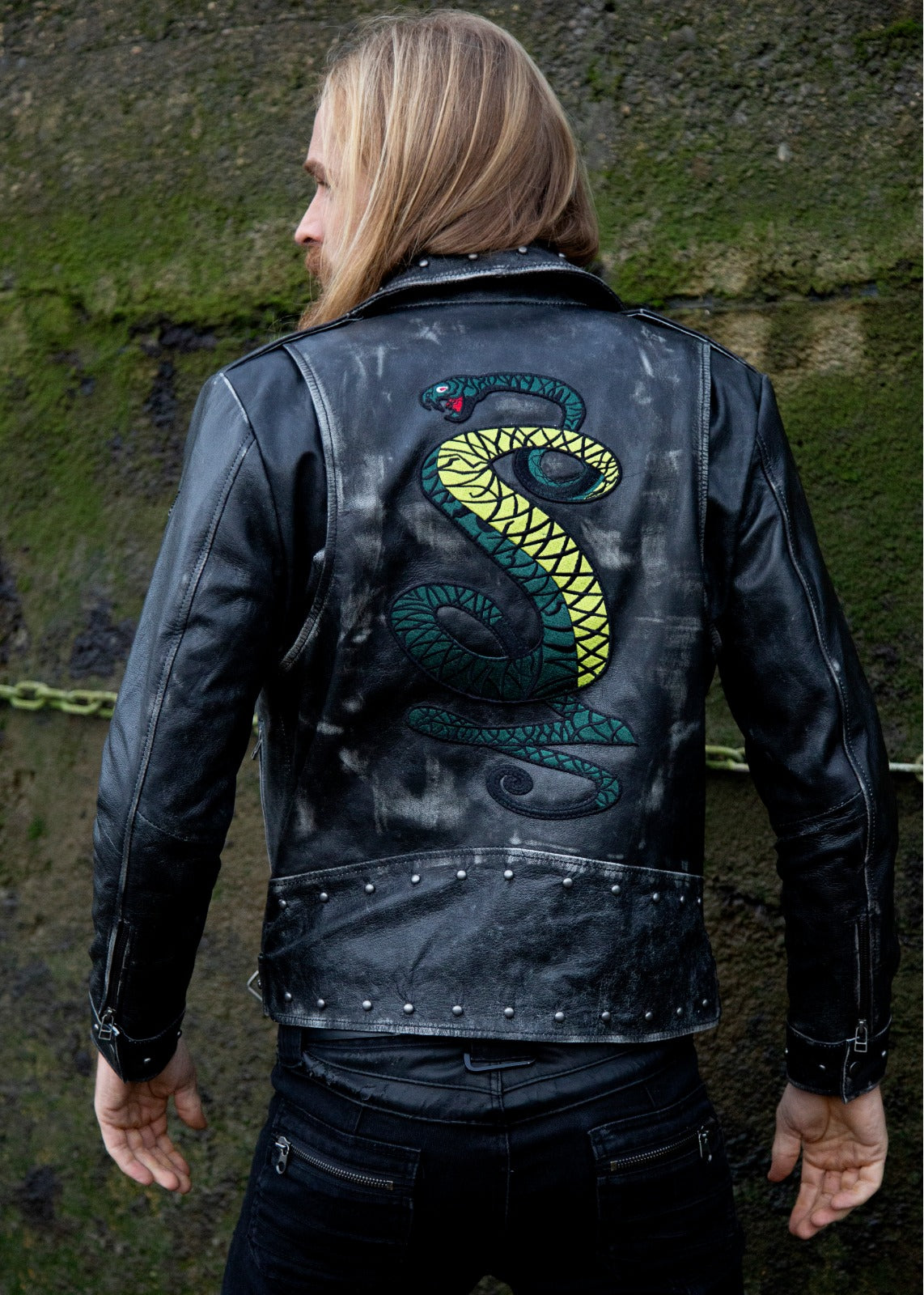 Buy Tunnel Snakes Leather Jacket Biker Fallout 4 Location