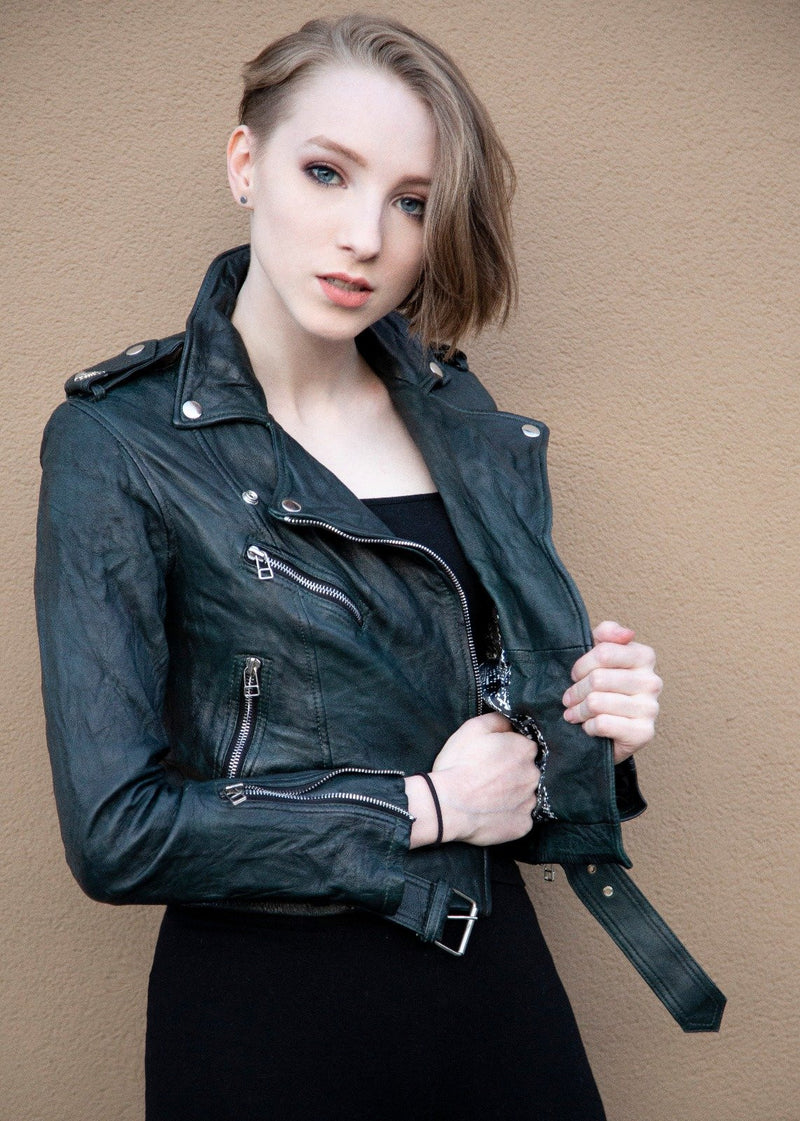 Womens Black Southside Serpents Riverdale Jacket by Luca Designs Buy Now