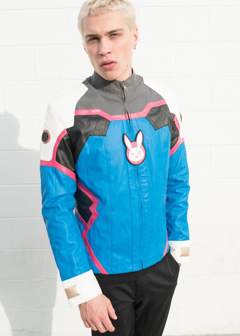Mens Overwatch DVA Leather Jacket