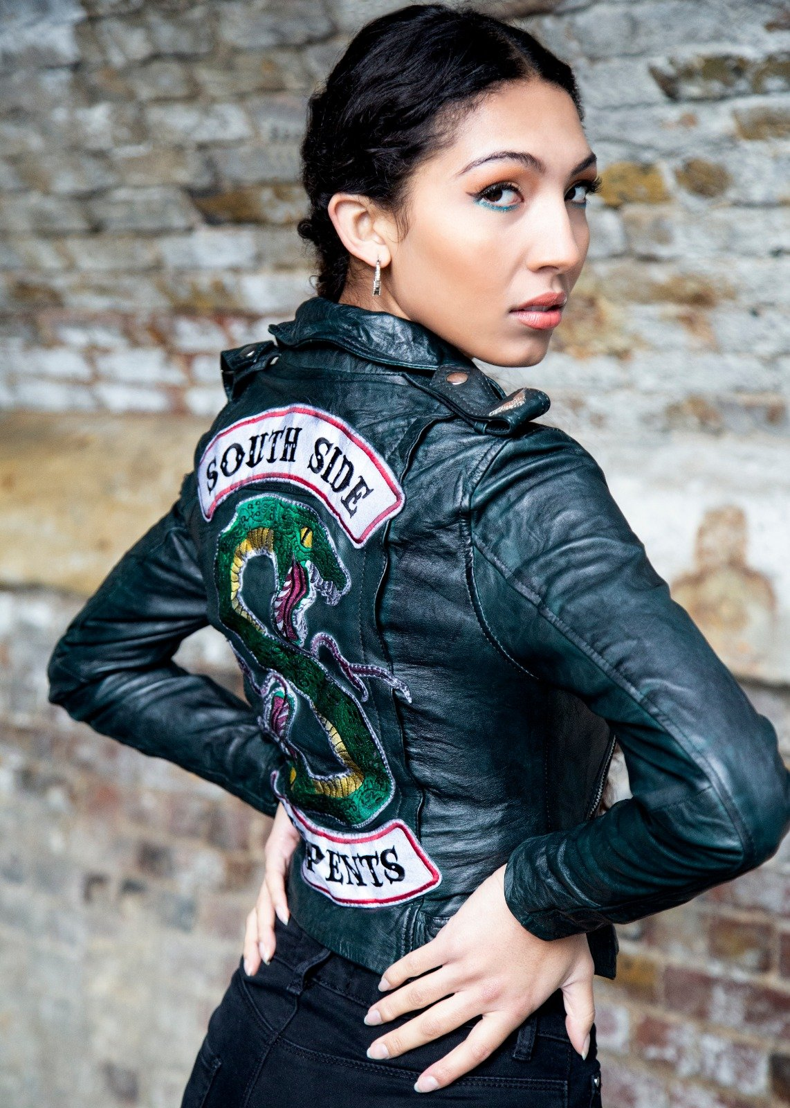 Womens Black Southside Serpents Riverdale Jacket Hot Topic